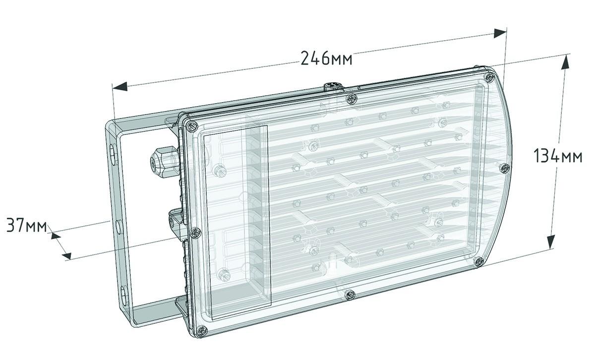 LP01-040-W80-220VAC-IP65