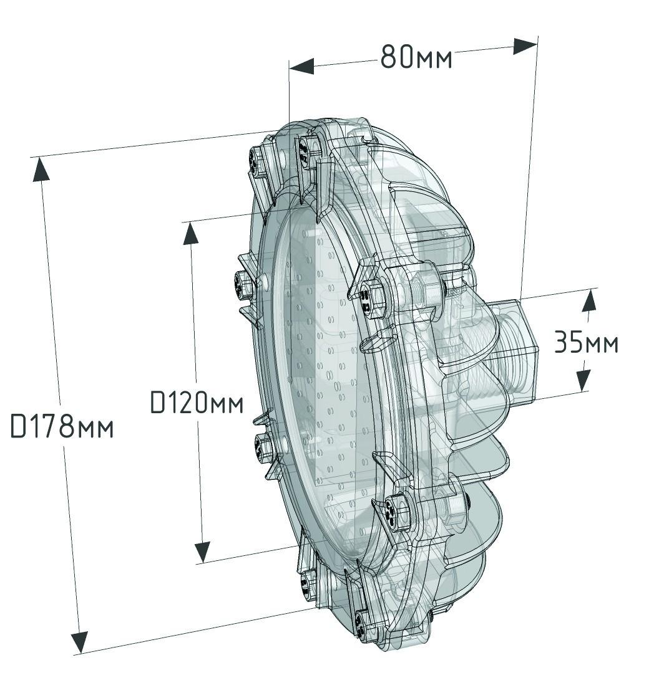 АТ-ДСП-33/22-220 VAC-IP67-EX